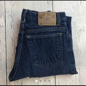 Vintage GAP Darkwash high rise jeans 16